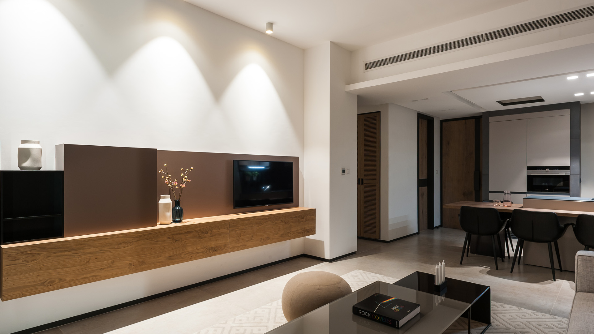 The Terraces 'Modern Minimalistic' Living Room